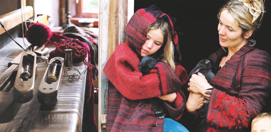 Kathrin Schiefer Rosenheim - Handgewebte Kleidungsstücke aus Schafwolle