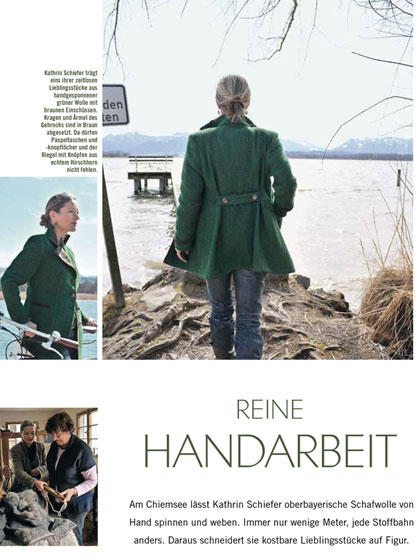 Landlust Magazin, Redaktioneller Beitrag, Ausgabe März/April 2011