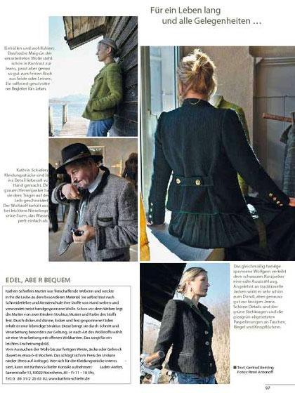 Landlust Magazin, Redaktioneller Beitrag, Ausgabe März/April 2011 3